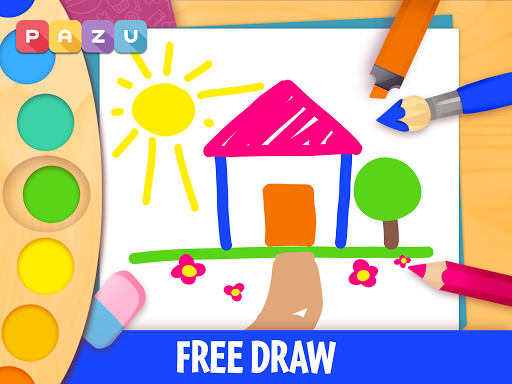 Coloring games for kids - Painting for toddlers