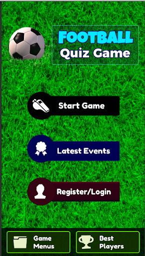 Football Quiz Game 2020
