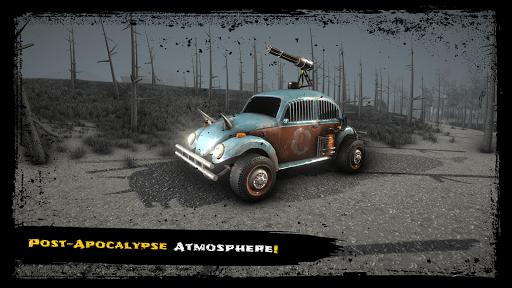 Wrecked Cars: Post-Apo War with Guns, Cross Battle