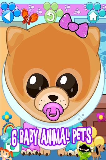 Baby Animal Puppy Pet Vet Virtual Doctor Kids Game