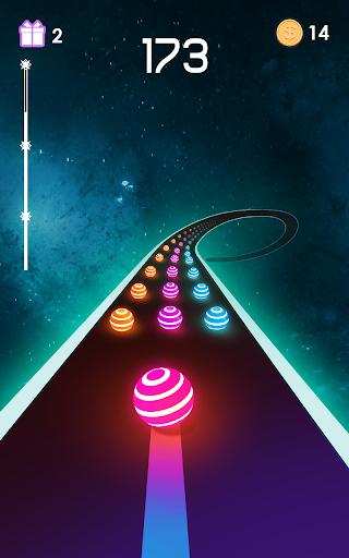 Dancing Road: Colour Ball Run!