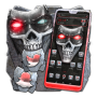 icon Metal Skull Mask Launcher Theme