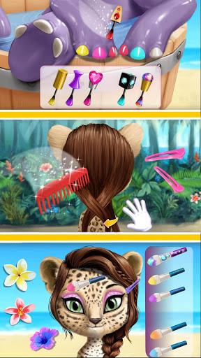Jungle Animal Hair Salon 2