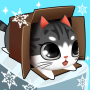 icon Kitty in the Box