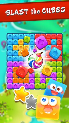 Cube Dash: Pop & Blast Block Puzzle Game